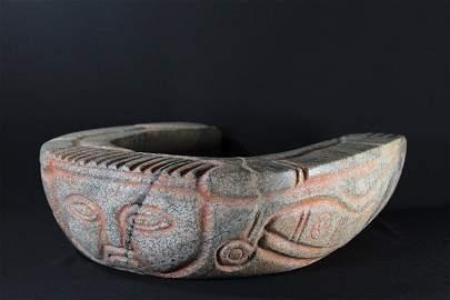 Pre-Columbian Stone Yoke