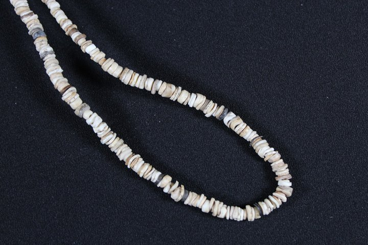 Stone and Shell Necklace - Southwest - 2