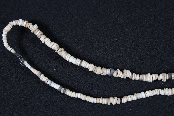 Stone and Shell Necklace - Southwest - 3