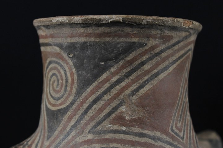 Early Casa Grande Pottery Vessel - 6