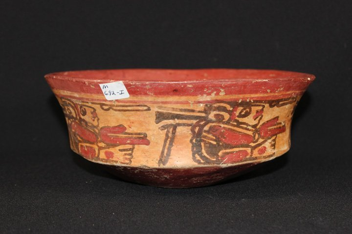 Beautiful Pre-Columbian Painted Bowl - 3