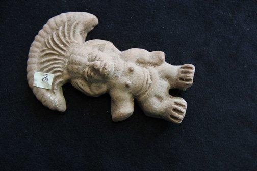21:  Aztec Clay Figure