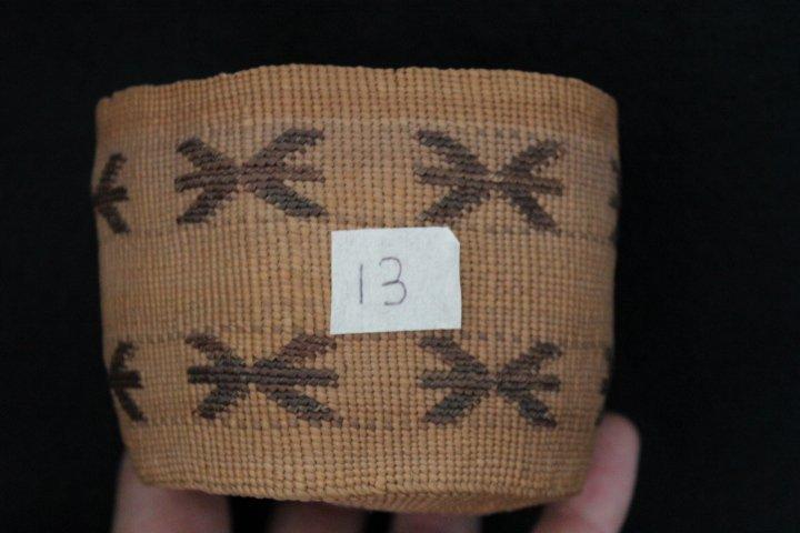 13: Tlingit  Basket