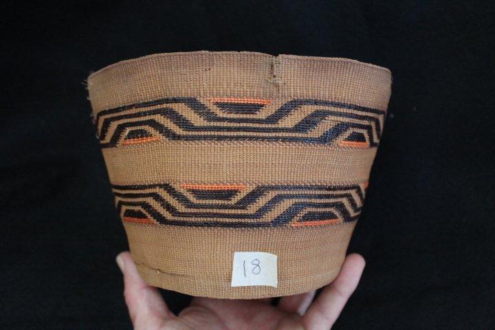 18: Tlingit Basket