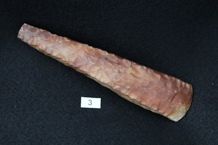 3: Danish Flint Celt