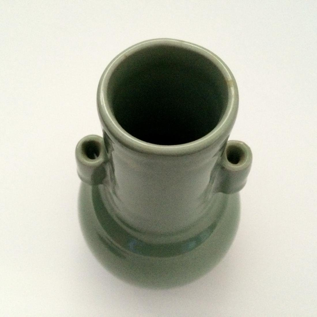 Imperial Qun Ware Vase, Song Dynasty Mei Zi Qing Color