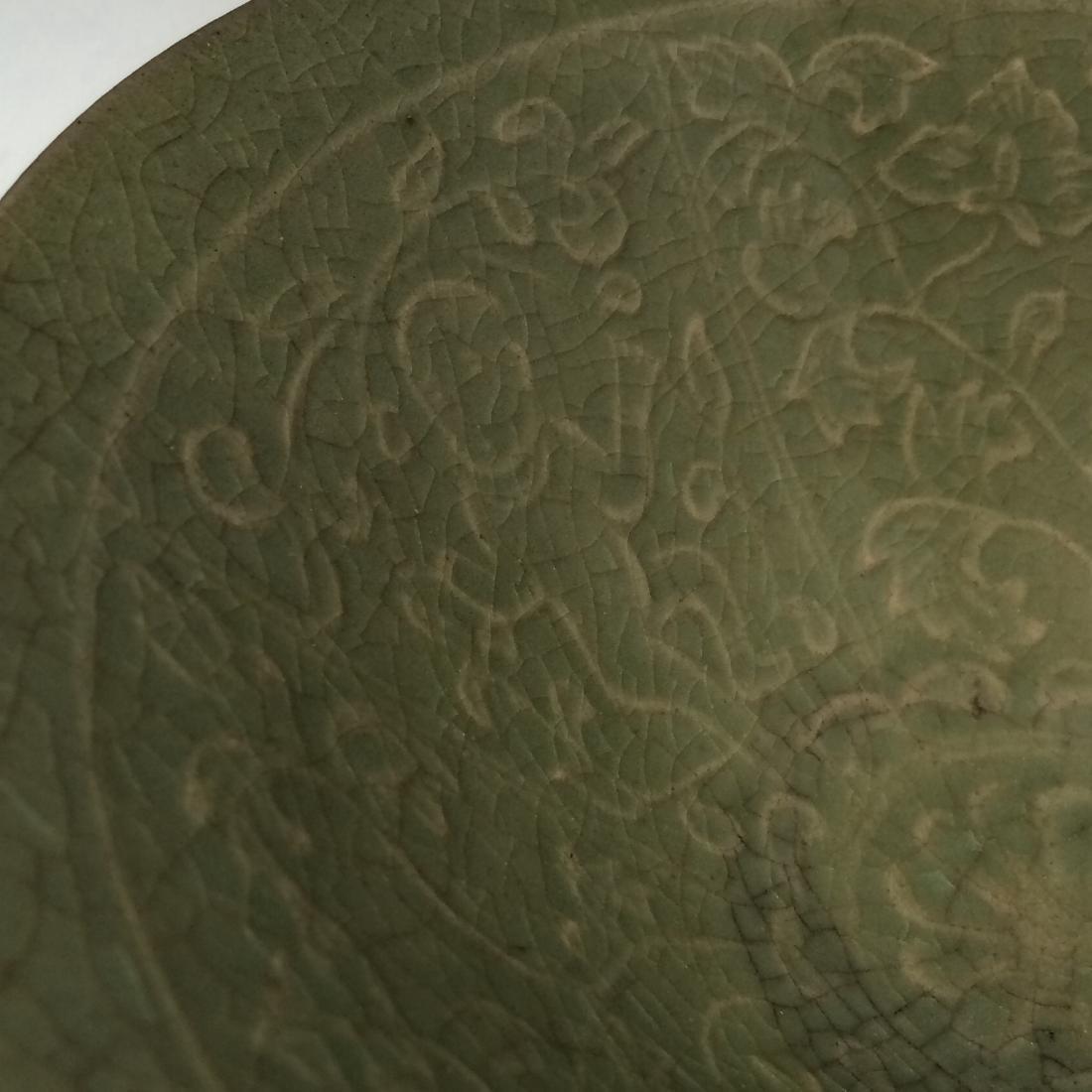 Yao Zhou Ware PorcelainGreen, 3 Boys Decorated Bowl - 3