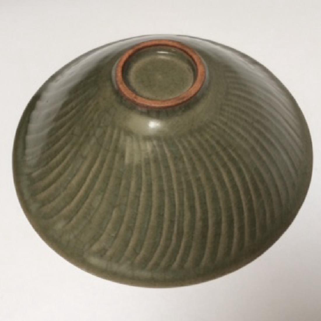 Yao Zhou Ware PorcelainGreen, 3 Boys Decorated Bowl - 4