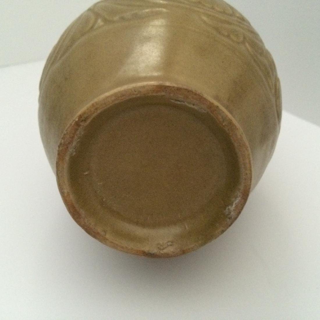 "Before Song Dynasty Yue Ware Vase, ""Repaired"" (8""H) - 7"