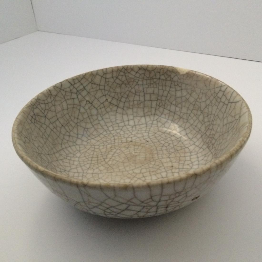 "Old Ge Ware Crackle Glaze Bowl, Cheng Hua (7.5""Dia)"