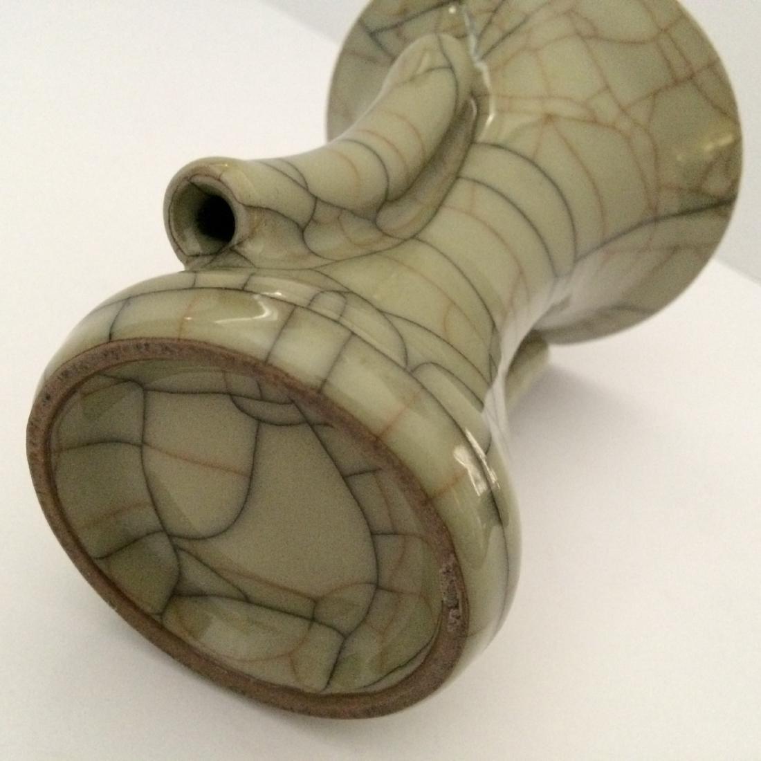 """Guan Ware Porcelain Crackle Glaze Vase (5.5""""H) - 5"""