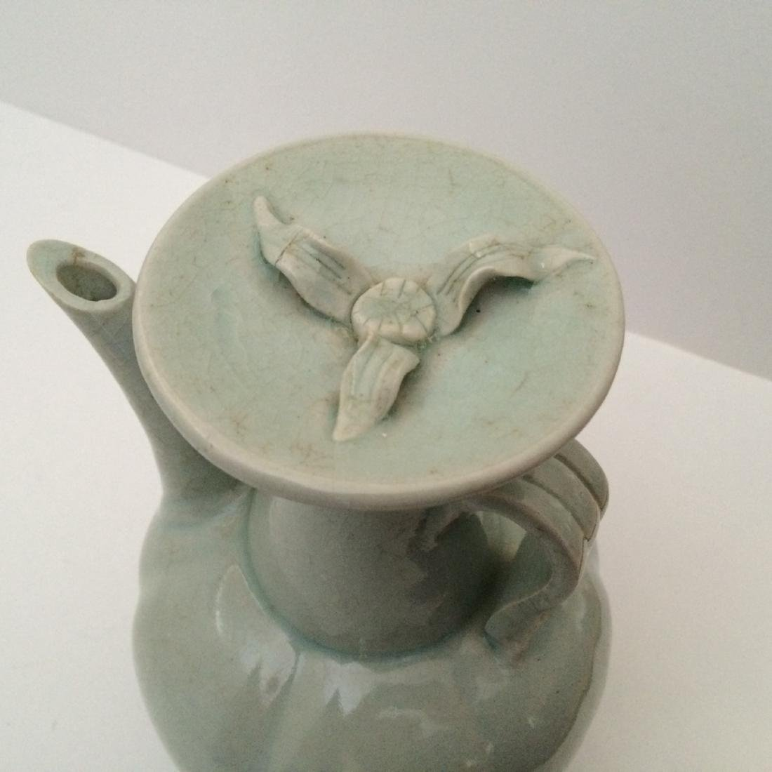 Song Dynasty Tea Pot with Handle - 2