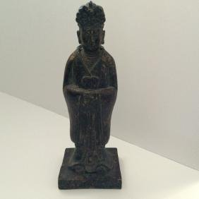 "Ming Dynasty Bronze Figure (12""H)"