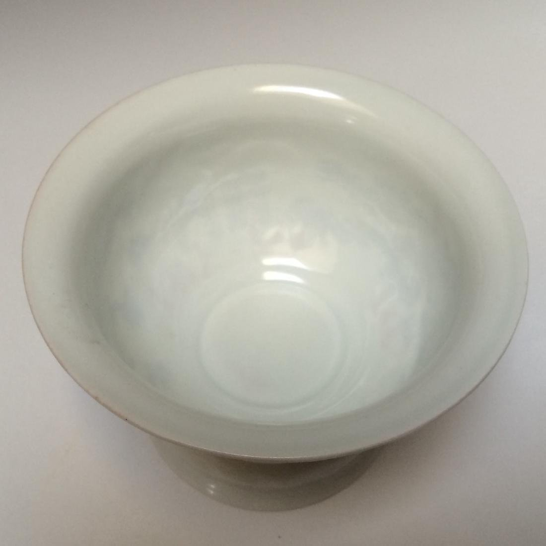 Porcelain Rotating Bowl Phoenix Paintings Nei Fu Mark - 4