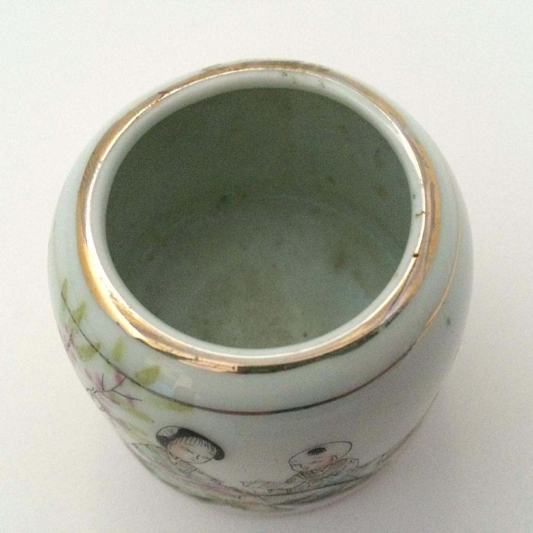 Qing Dynasty Multi Color Porcelain, Famous Names, Mark - 2
