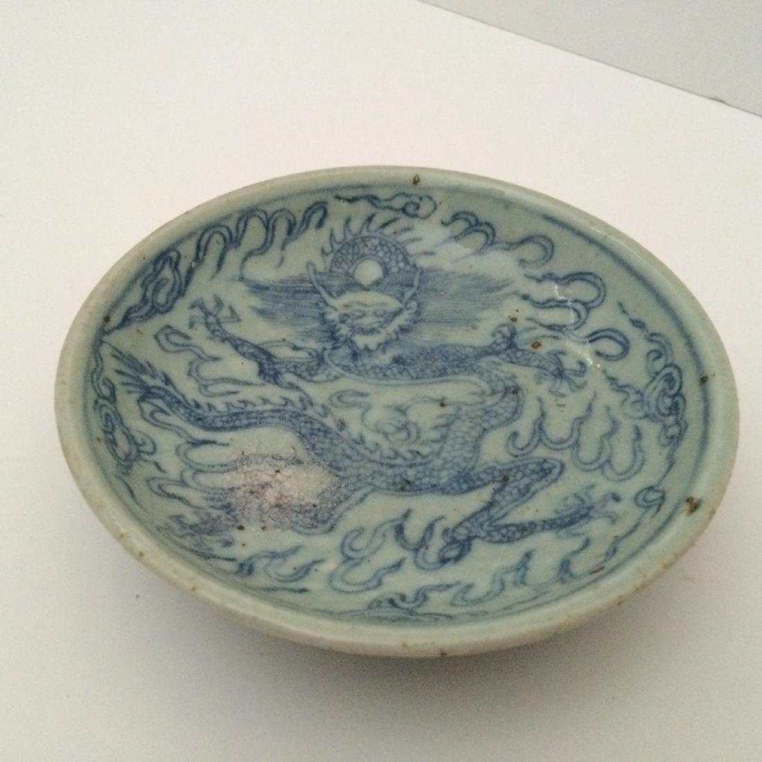 Ming Dynasty Porcelain Blue & White Dragon