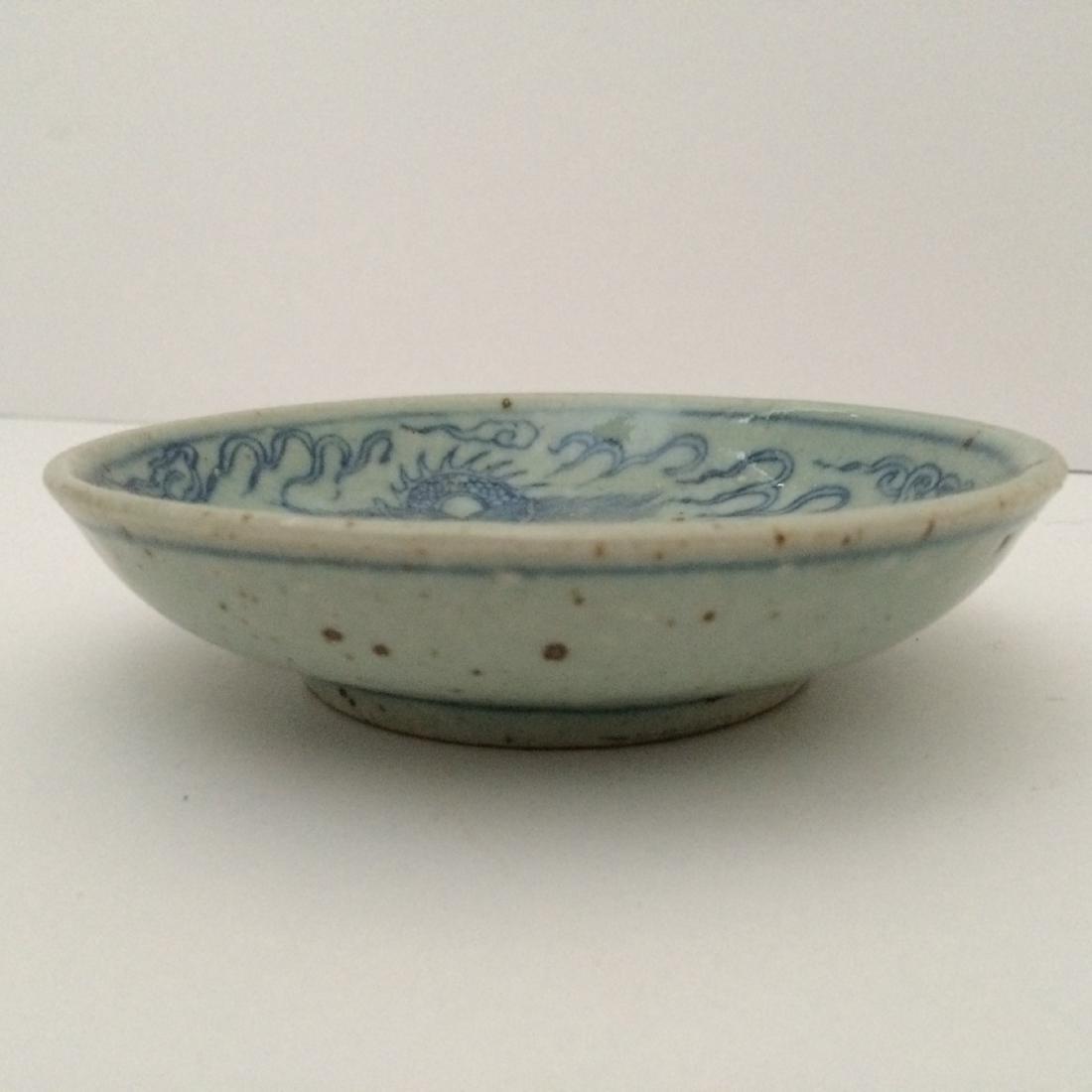 Ming Dynasty Porcelain Blue & White Dragon - 2