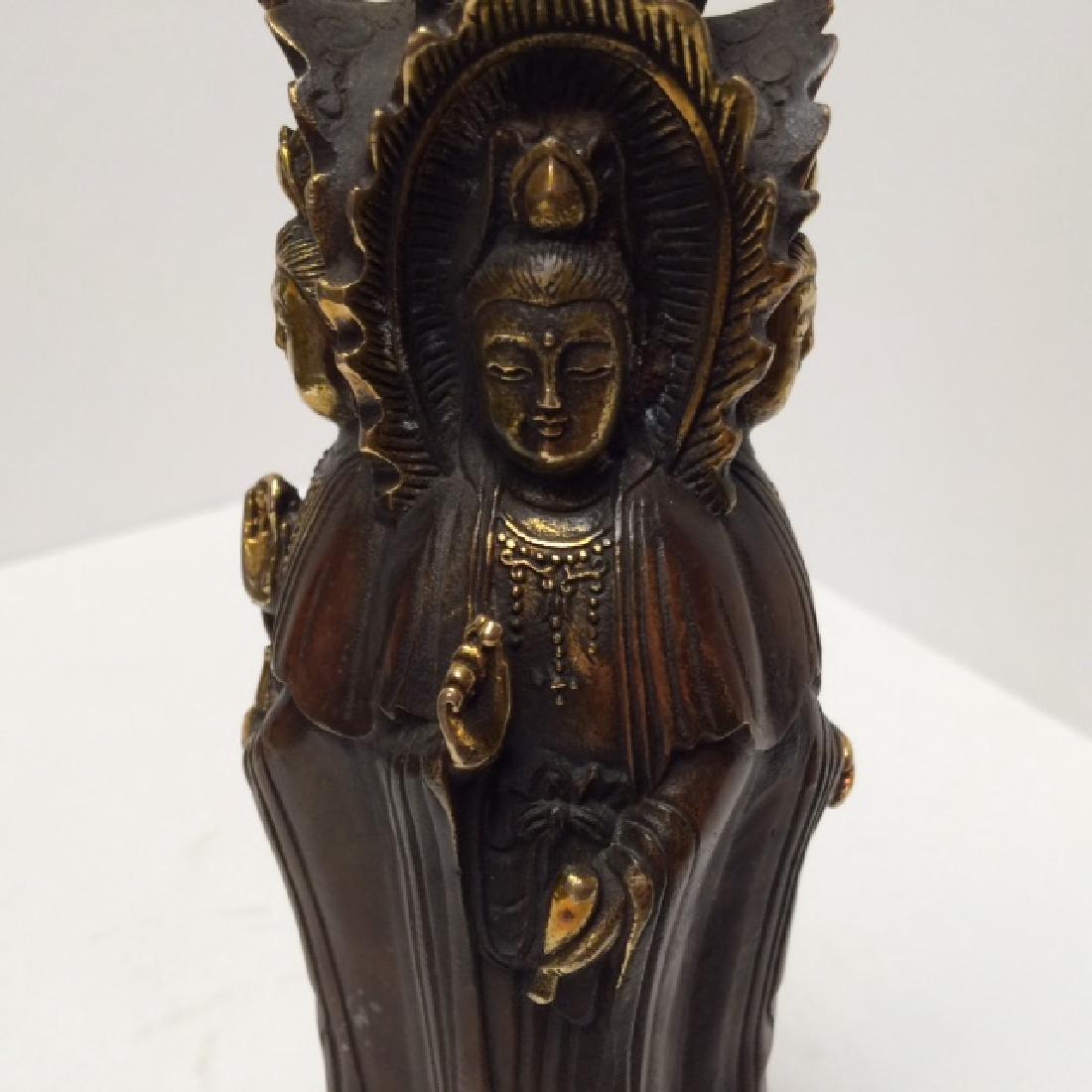 Ming Dai Bronze Statue - 2