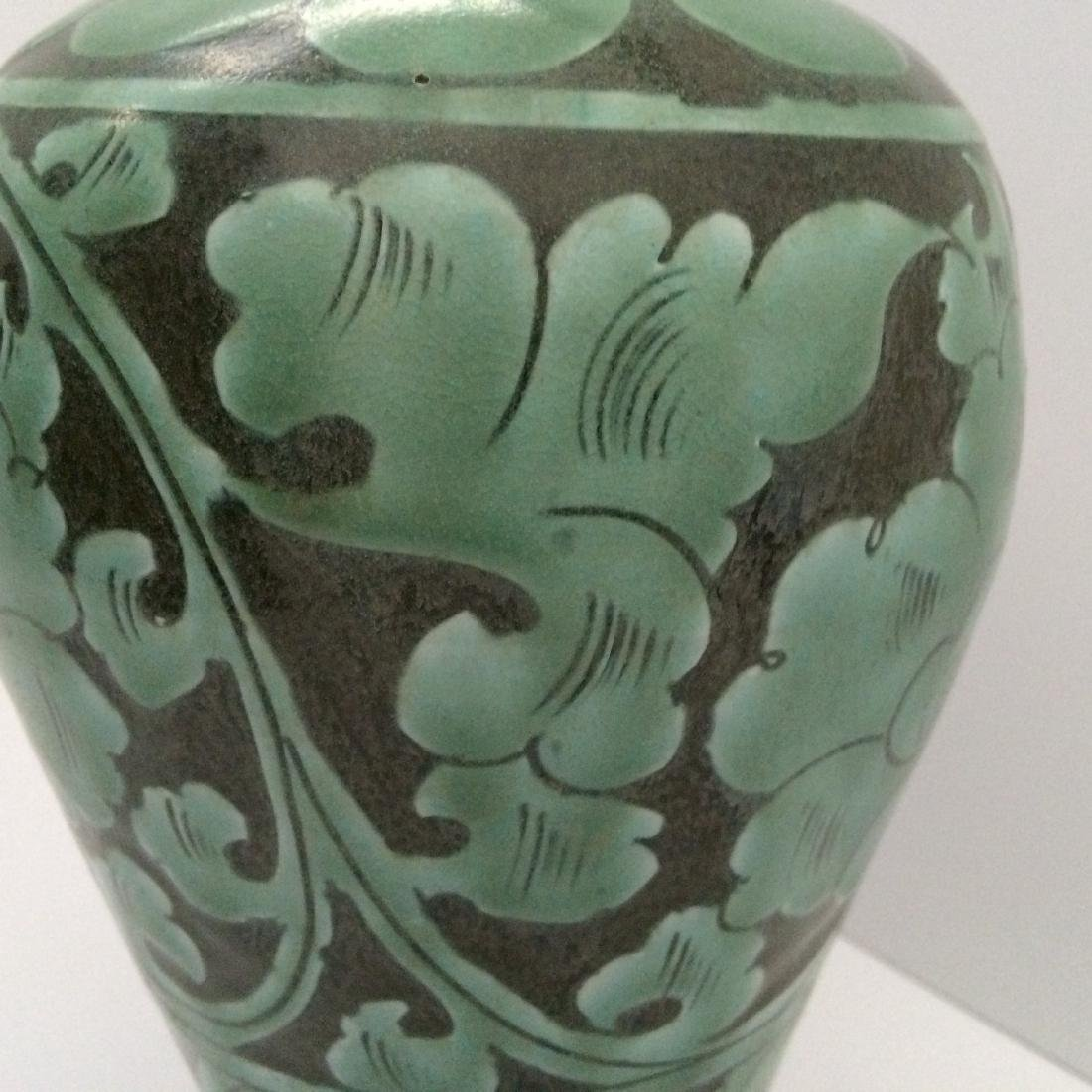 Song Dynasty Ci Zhou Ware Vase, Meiping - 2