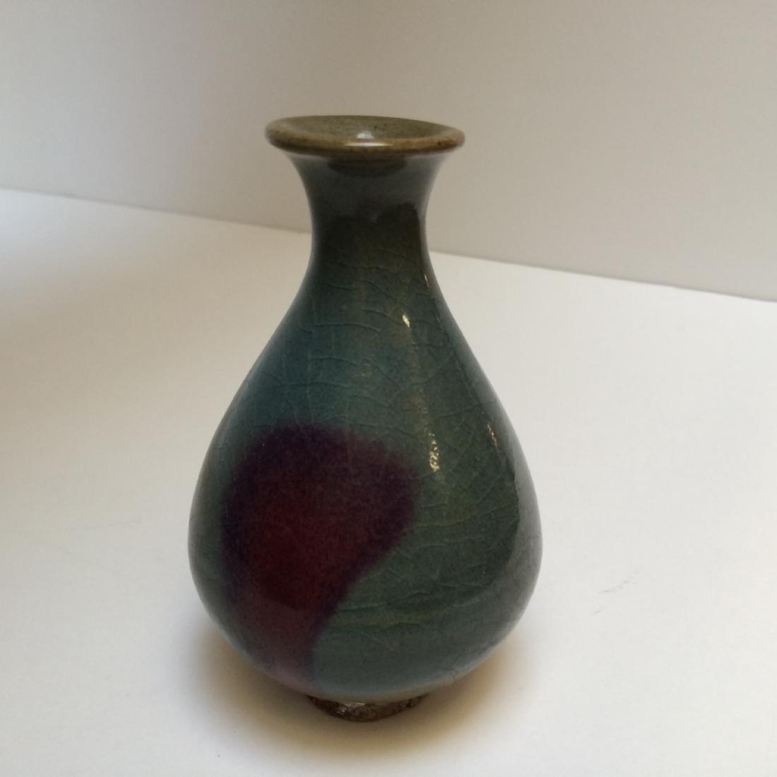 Chinese Yuan Dynasty Style Jun Ware Vase