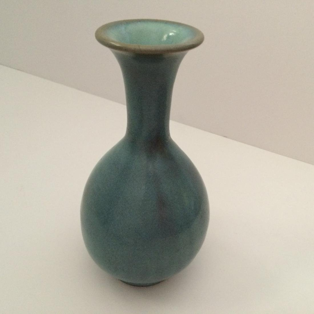 Chinese Antique Style Blue Jun Ware Vase