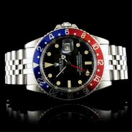 """Rolex GMT-Master Jubilee Vintage """"Pepsi†Watch"""