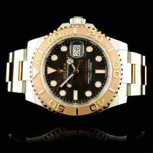 Rolex Yacht-Master Everose & Stainless Steel Watch