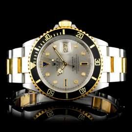 Rolex Submariner 16613 YG/SS 40MM Wristwatch