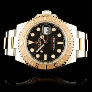 Rolex Yacht-Master Everose & Stainless Steel Watch