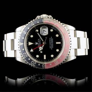 "Rolex GMT-Master II ""Pepsi†Stainless Steel Wa"