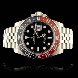"Rolex GMT-Master II ""Pepsi†Ceramic Watch 1267"