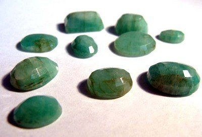 49.16 Ct TW Natural Oval Emerald (Beryl) Loose gems