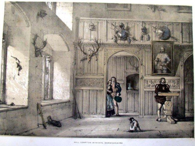 Hall Compton Wynyate Warwickshire Mansions of England