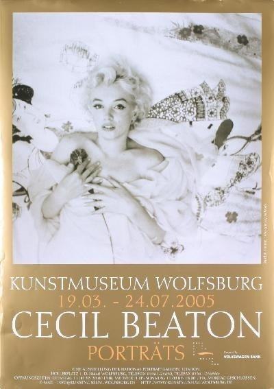 Marilyn Monroe / Cecil Beaton German Art Photo Poster