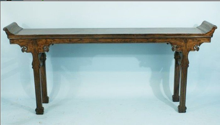 Antique chinese Qing dynasty rosewood Long table.