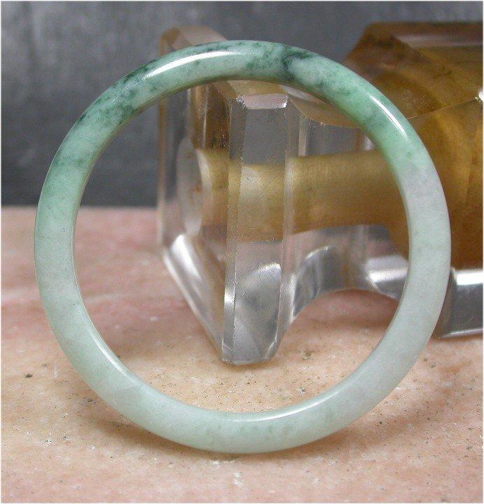 Green 100% Natural A JADE JADEITE Baby Bangle Bracelet