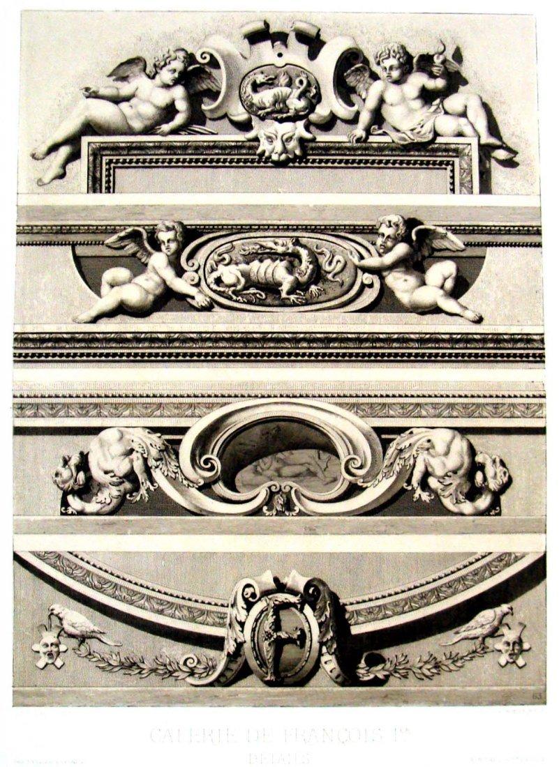 Architectural Details Fountainbleu Hotel Paris 1863