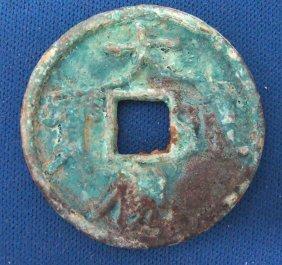 Chinese Tang Period Bronze Da Guang Tong Bao Coin