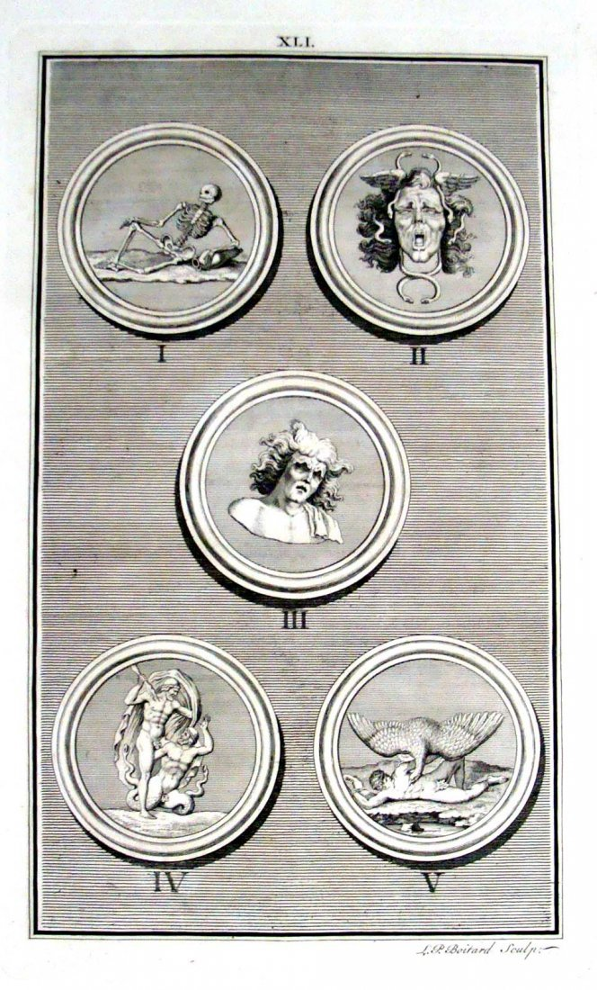 Copper Plate Etching 1747 by Rev Spence Plate 41