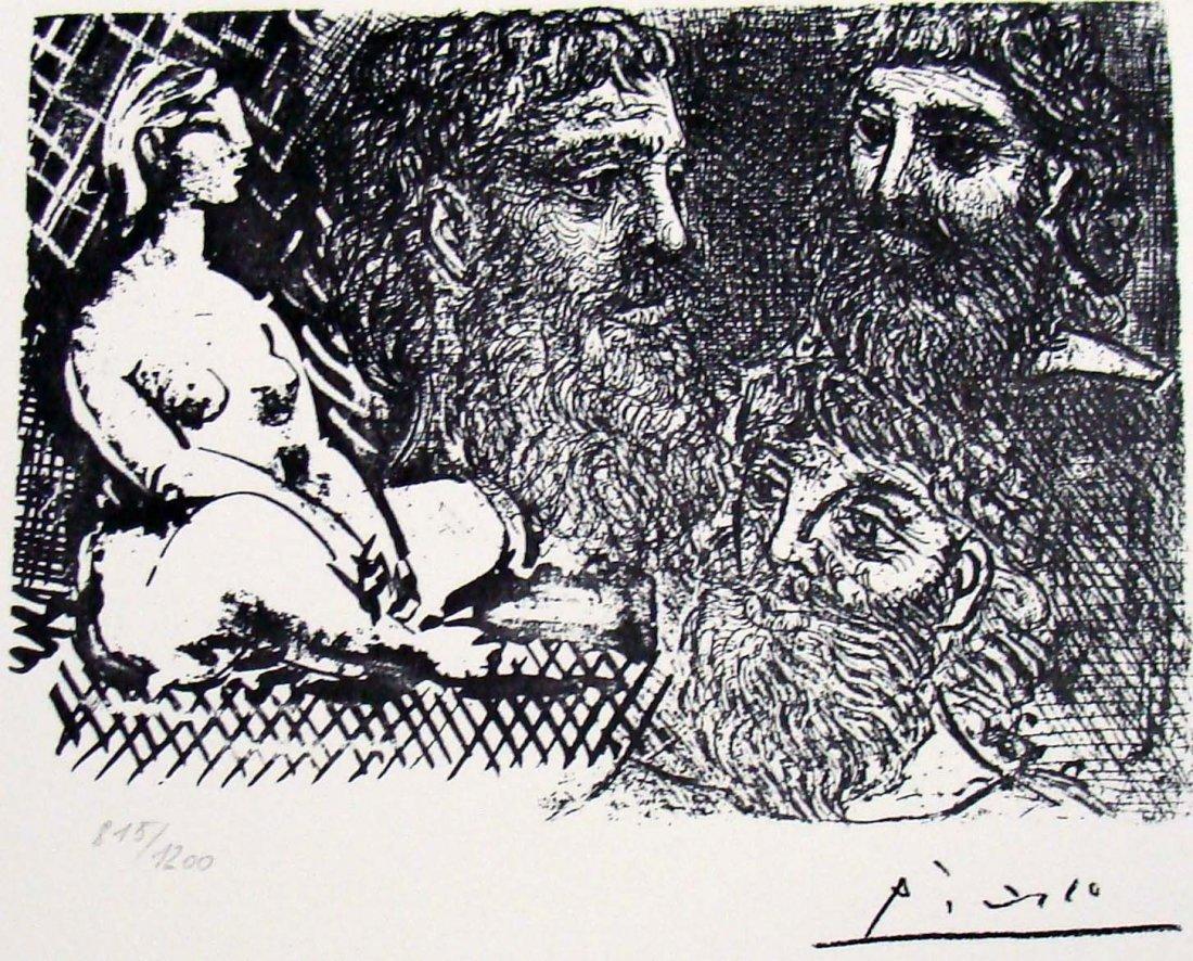 """Pablo Picasso """"Vollard Suite"""" 815/1200 by SPADEM 1973"""