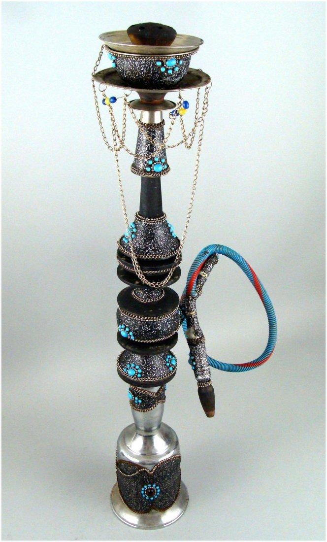 Beautiful Decorative Persian Hookah from the 1980's