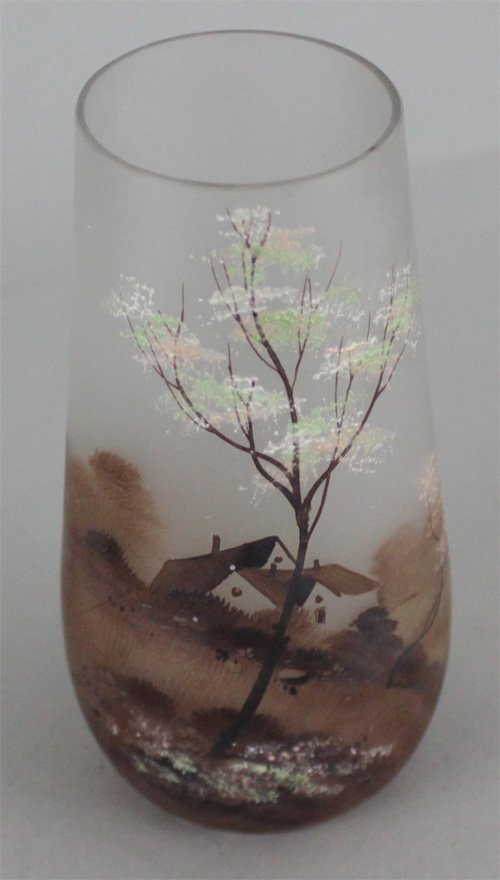 Antique French Cameo Glass Vase