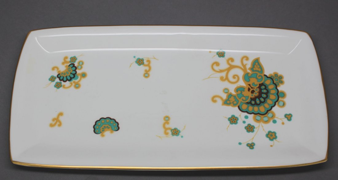 Rectagular Plate  Minton 1793 Made in England
