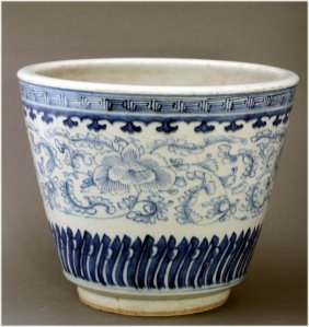 Chinese blue and white ANTIQUE Porcelain Jar