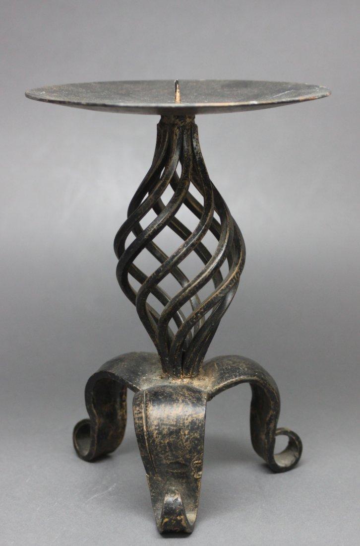 Bronze Decorative Candle Holder