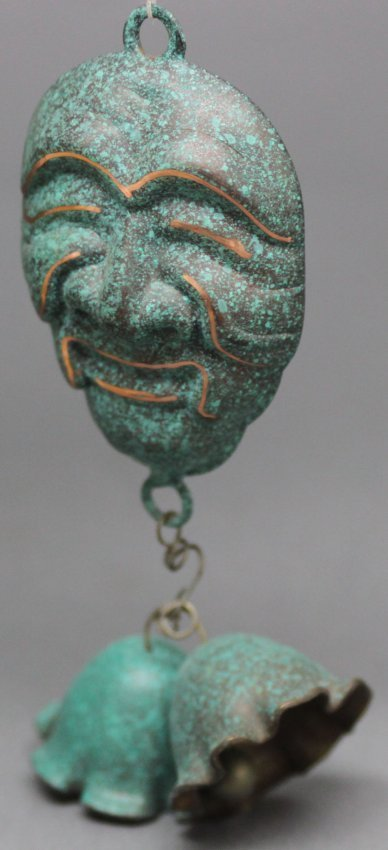Hanging Mask with Bells