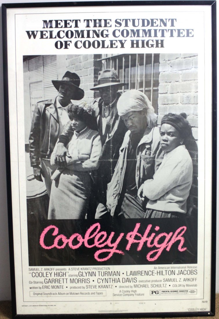 Cooley High Movie Poster Framed