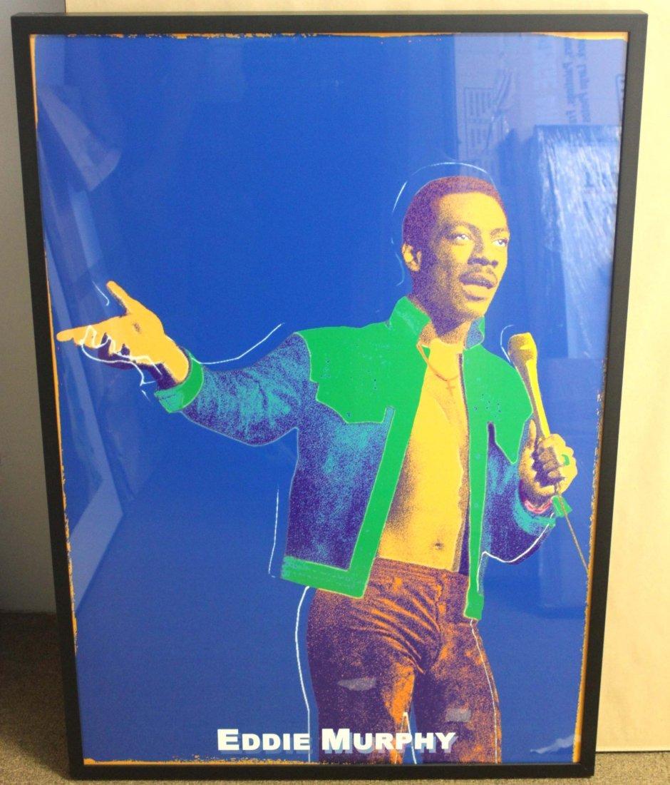 Eddie Murphy Original Silkscreen Portrait