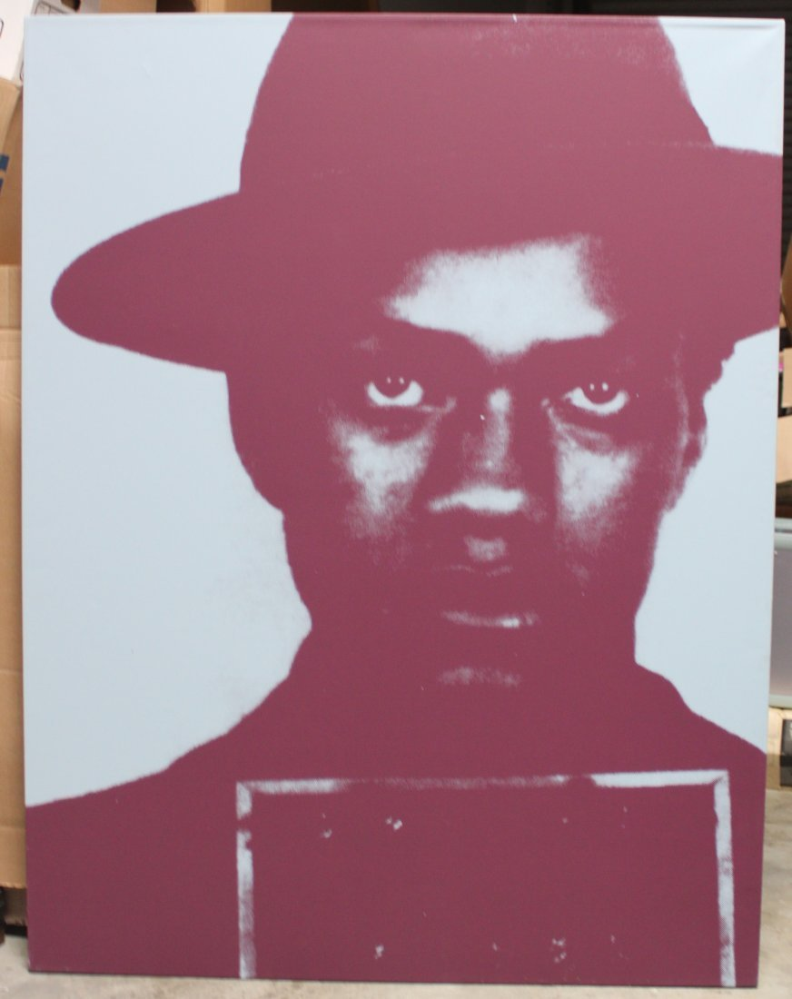 Malcolm X By Russell Young Number 3/5 Dated 2002