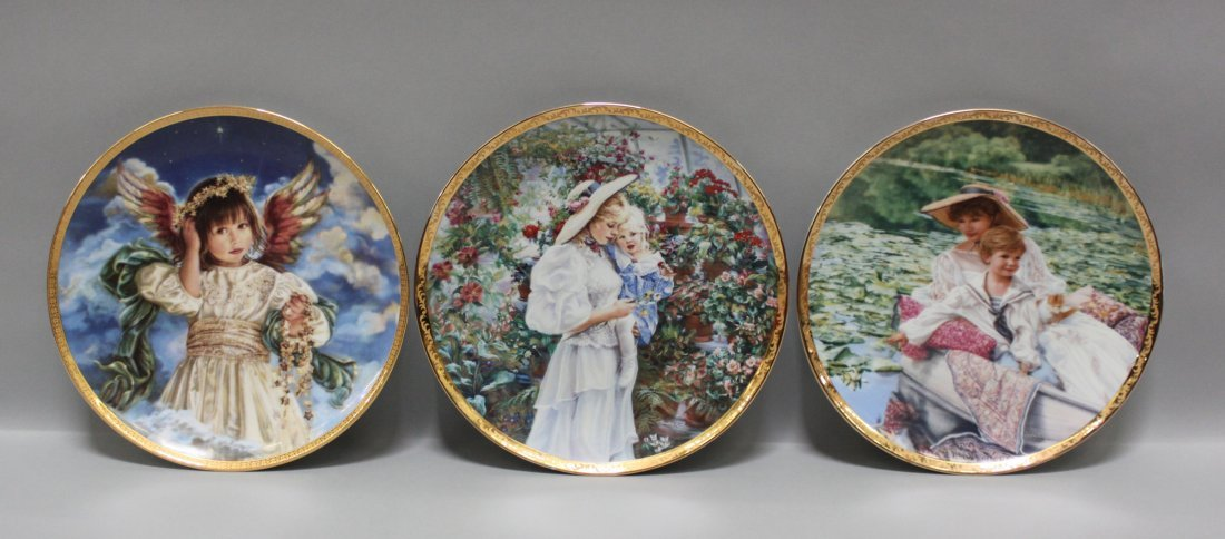 "Set 3 Reco Collection ""Noel"" plates by Sandra Kuck - 2"